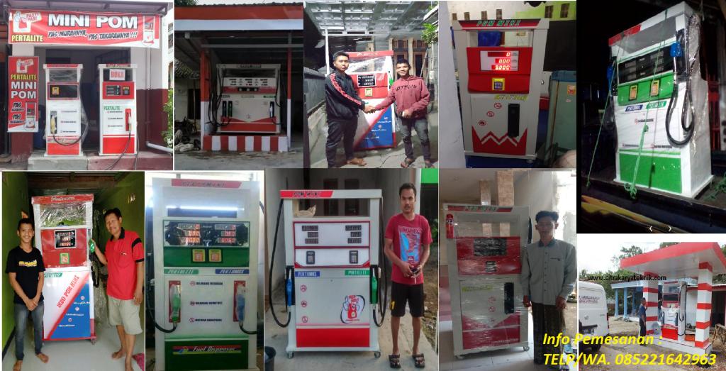 Konsumen Pom Mini Di Kabupaten Nganjuk