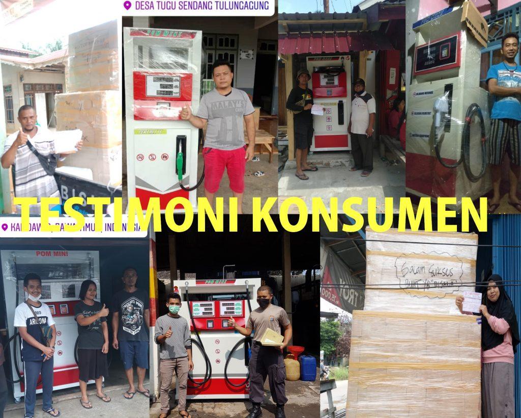Testimoni Konsumen Pom Mini Kabupaten Polewali Mandar